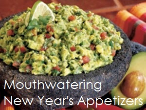 Guacamole for new years photo