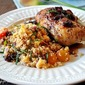 5 Star Makeover: Black Plum Sauce, Nectarine Whole Wheat Couscous, and Oven Roasted Chicken