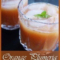 Orange Plumeria | Fresh Orange Plum Juice