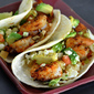 Grilled Shrimp Taco with BBQ Dry Rub Recipe: Fast, Light and You Can Grill Them Indoors! Plus A Cool Give Away