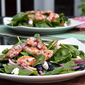 Blueberry Mojito Shrimp salad