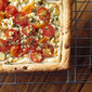 Easy Cherry Tomato and Feta Tart