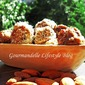 Almonds and plum bon-bons