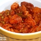Stewed Pork In Tomato Sauce & White Wine