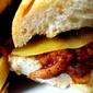 Scrumptious bacon panini