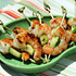 Recipe for grilled sesame-lime shrimp and cucumber skewers