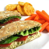 A Delicious, Skinny, Fiber Rich Tuna Sandwich You'll Just Love!