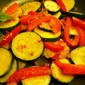 Sauteed Zucchini with Peppers