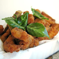 Five spices fried chicken strips