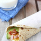 Make-Ahead Egg Wrap Recipe with Ham, Avocado & Salsa