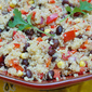 Southwestern Quinoa Salad With Black Beans, Corn & Peppers