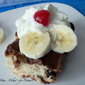Chocolate Chip Banana Split Cake