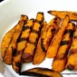 Secret Recipe Club: Grilled Sweet Potato Curry Fries