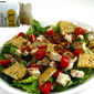 Fresh, Fabulous and Skinny, Chicken Caesar BLT Main Course Salad