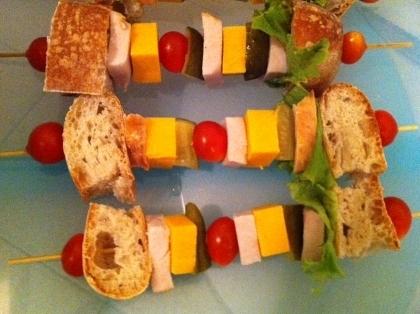 Fotos de Sandwich on a stick - CocinarComerCompartir