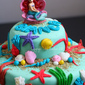 Princess Ariel Birthday Cake for My Beautiful Princess
