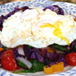 Farmers Market Stir-fry with Sunny Eggs