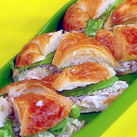 Image of Arcadian-style Crab Salad On Croissants Recipe, Cook Eat Share