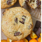 Kumquat & Chocolate Chunk Muffins with Cardamom, Coconut & Honeyed Oats