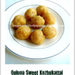 Quinoa Sweet Kozhukattai