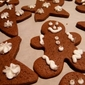 Thick and Chewy Gingerbread Cookies