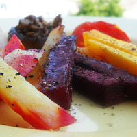 Image of Autumn In A Plate - Oven Roasted Vegetables Recipe, Cook Eat Share