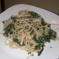 Pasta with Kale and Blue Cheese