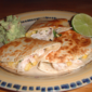 Turkey and Corn Quesadillas with Guacamole