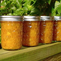 Orange Cinnamon Honey Fig Jam