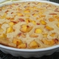Peach clafoutis ~ a french dessert highlighting fruit in season