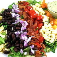 Image of So Delicious, So Low In Calories, Mexican Style Cobb Salad Recipe, Cook Eat Share