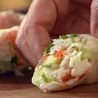 Image of Springing Shrimp Rolls Recipe, Cook Eat Share