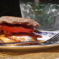 Bacon Egg Sandwich from Food Network Magazine, September 2011