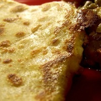Paneer carrot paratha/stuffed flat bread