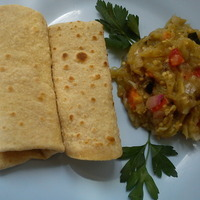 Baigan Ka Bhartha/ Skillet baked Egg Plant Sidedish for Roti's or Indian Bread