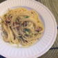 Spaghetti Carbonara from Food Network Magazine, September 2011