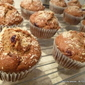 ice-creamed BEETroot walnut, raisin MUFFINS