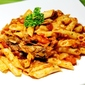 Simple Pasta and Pilchard Dish