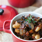 Vegetarian Mushroom & Cannellini Bean Ragout Recipe