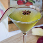 Ginger-Spiced Caramel Apple Martini