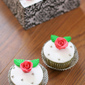 Rose Green Tea Cupcakes