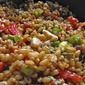 Wheatberry and Tomato Basil Salad