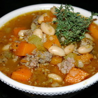Savory Sage Sausage and Pumpkin Chili