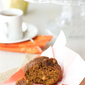 Whole Wheat Pumpkin Muffins with Toasted Almonds Recipe