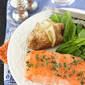 Baked Trout (or Salmon) with Honey-Thyme Glaze Recipe