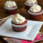 Gluten-Free, Sugar-Free Red Velvet Cupcakes with Cream Cheese Frosting and Mingle with MELT Contest