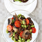 Mushroom & Edamame Salad with Smoked Paprika Dressing Recipe {A Giveaway}