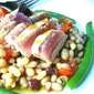 Seared Tuna & White Bean Salad