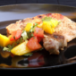 Pork Chops with Caribbean Rub and Mango Salsa from Cooking Light Magazine, October 2011