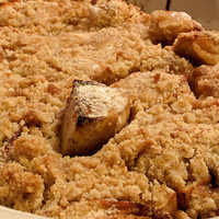 Honey Apple Cobbler